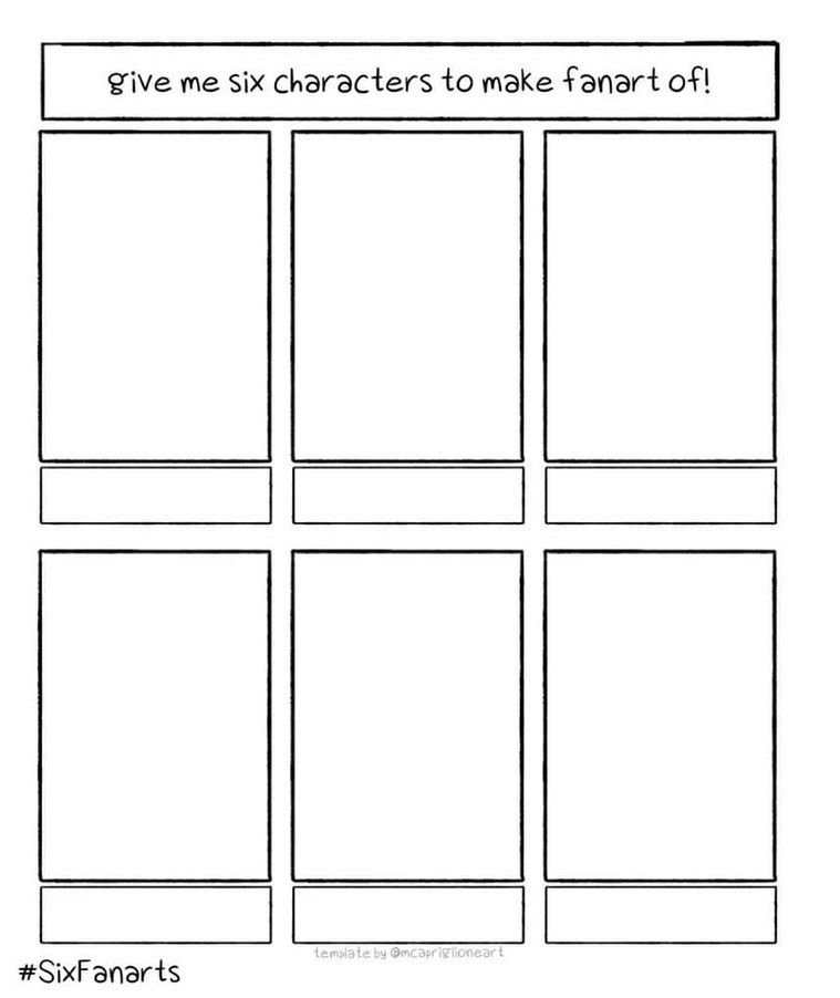 This seems like a nice challenge right now :). Give me the characters you would like to see me draw :). Curious what you come up with!.#sixfanart #artchallenge #fanart #characterdesign #drawing #everyonesdoingit